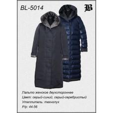 Женское зимнее двухстороннее пальто с капюшоном BURTLEY (Германия)